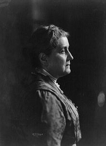 Jane Addams (1860 – 1935) was a pioneer settlement social worker, public philosopher, sociologist, author, and leader in women's suffrage and world peace.