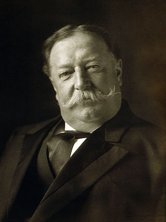 William Howard Taft (1857 – 1930) was the 27th President of the United States (1909–1913) and later the tenth Chief Justice of the United States (1921–1930). He is the only person to have served in both of these offices.