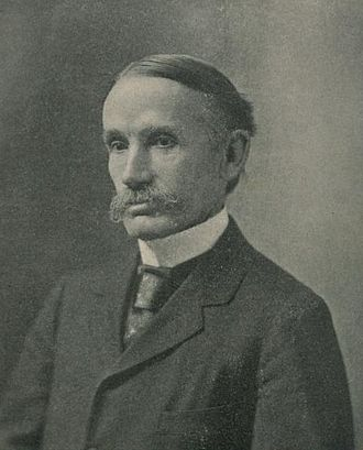 John Bates Clark (1847 – 1938) was an American neoclassical economist. He was one of the pioneers of the marginalist revolution and opponent to the Institutionalist school of economics, and spent most of his career teaching at Columbia University.
