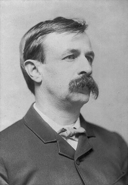 Edward Bellamy (1850 – 1898) was an American author and socialist, most famous for his utopian novel, Looking Backward, a Rip Van Winkle-like tale set in the distant future of the year 2000.