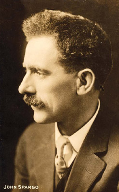 John Spargo (1876–1966) became a renowned expert in the history and crafts of Vermont. Spargo is best remembered as an early biographer of Karl Marx and as one of the leading public intellectuals affiliated with the Socialist Party of America during the progressive era of the early 20th Century.