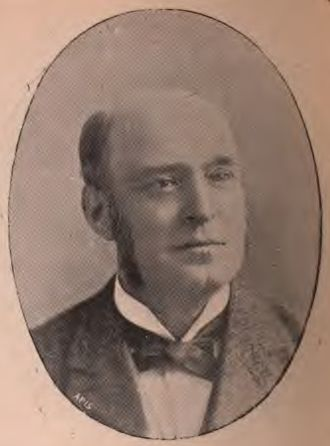 George Harwood (1845 – 1912) was a British businessman and Liberal Party politician. In Parliament he took a keen interest in issues regarding the Church and licensing. He was also concerned with working conditions, being a principal supporter of a bill for the early Saturday closing of textile factories.