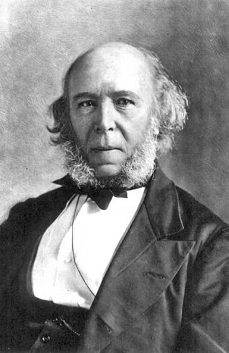 Herbert Spencer (1820 – 1903) was an English philosopher, biologist, anthropologist, sociologist, and prominent classical liberal political theorist of the Victorian era.