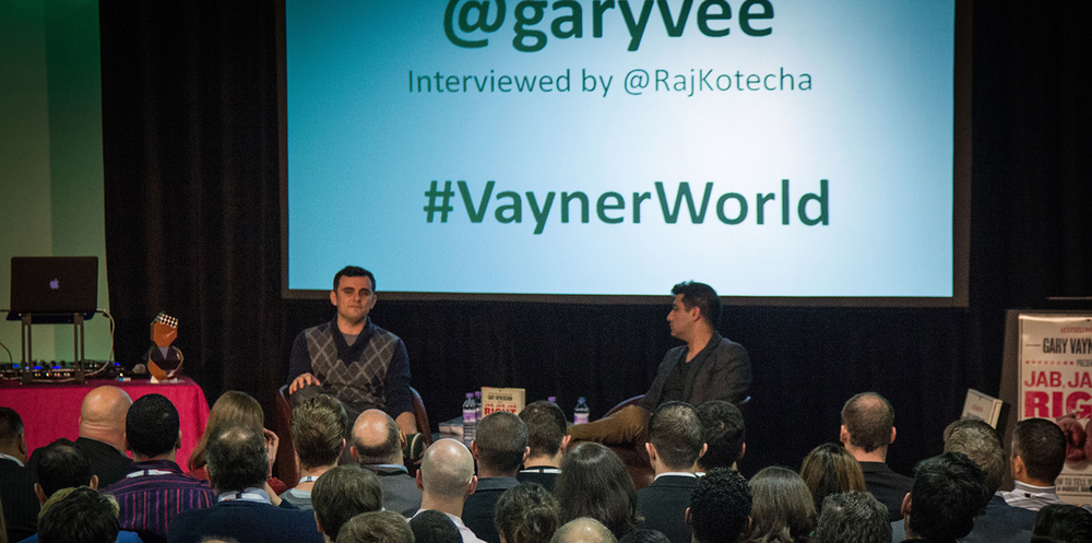 Raj Kotecha, CEO, Creative Content Agency, interviews Gary Vaynerchuk, CEO, VaynerMedia for  VaynerWorld .