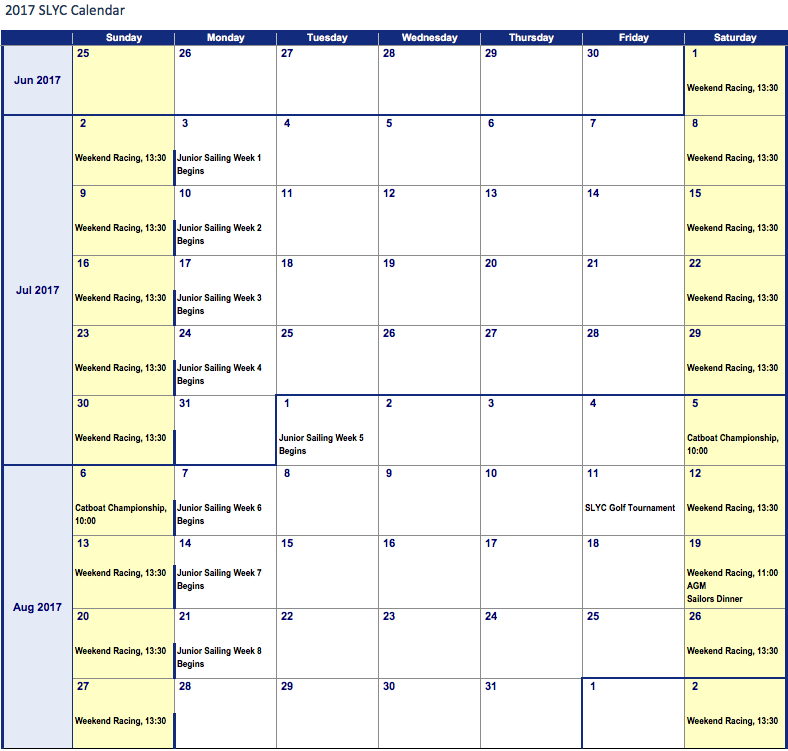click to enlarge. calendar subject to change.