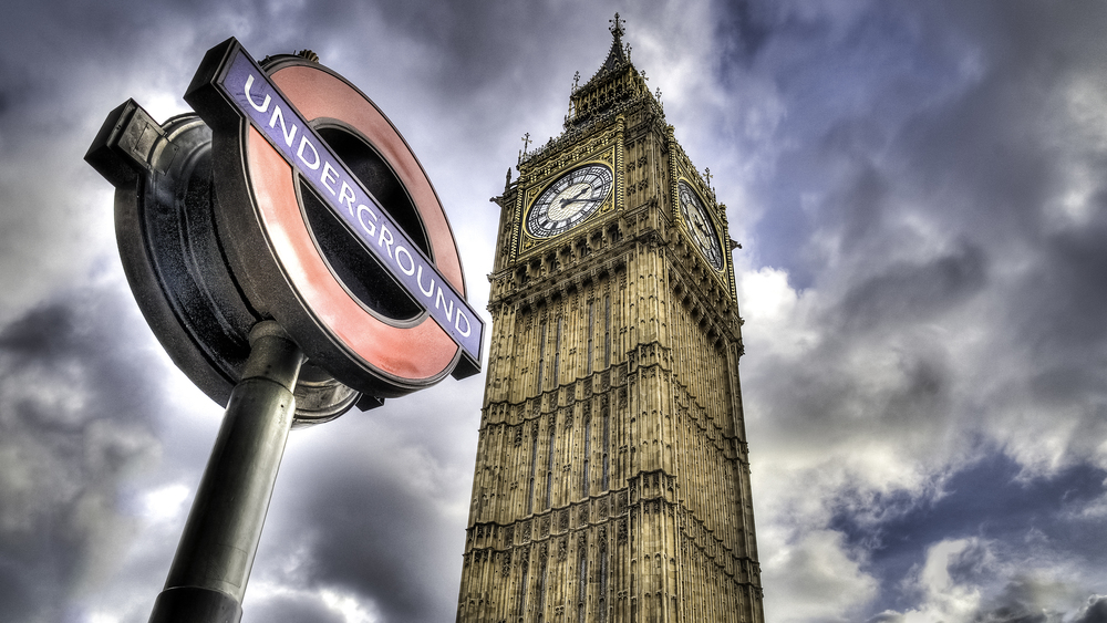 Westminster Underground and Big Ben