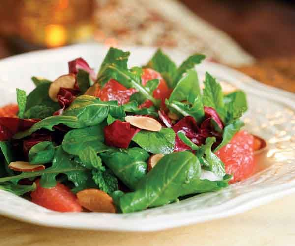Grapefruit Salad with Toasted Almonds