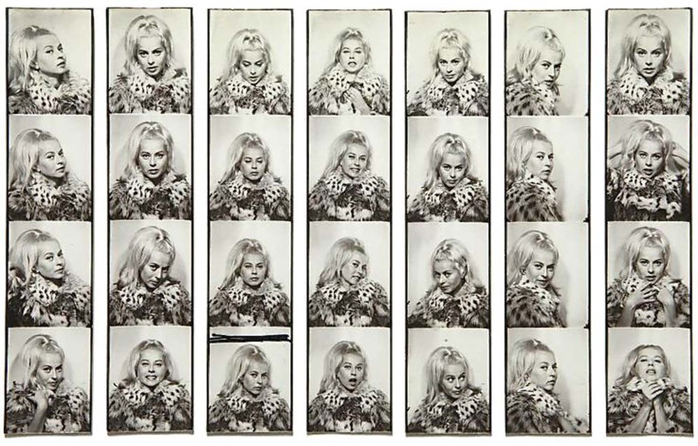"Andy Warhol; ""Holly Solomon"", 1963-1964; Image Source"