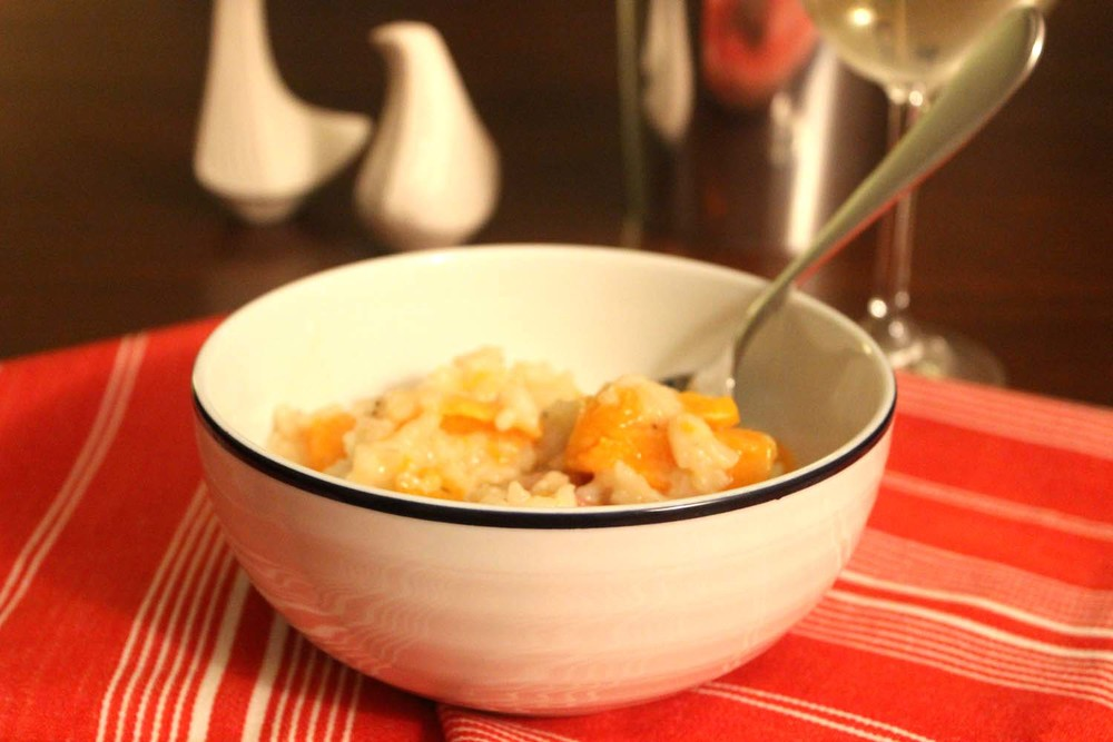 Butternut Squash Risotto  | Image:  Laura Messersmith