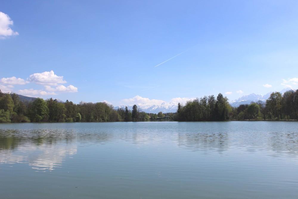 Lake Leopoldskroner Weiher, Salzburg, Austria| Image:Laura Messersmith