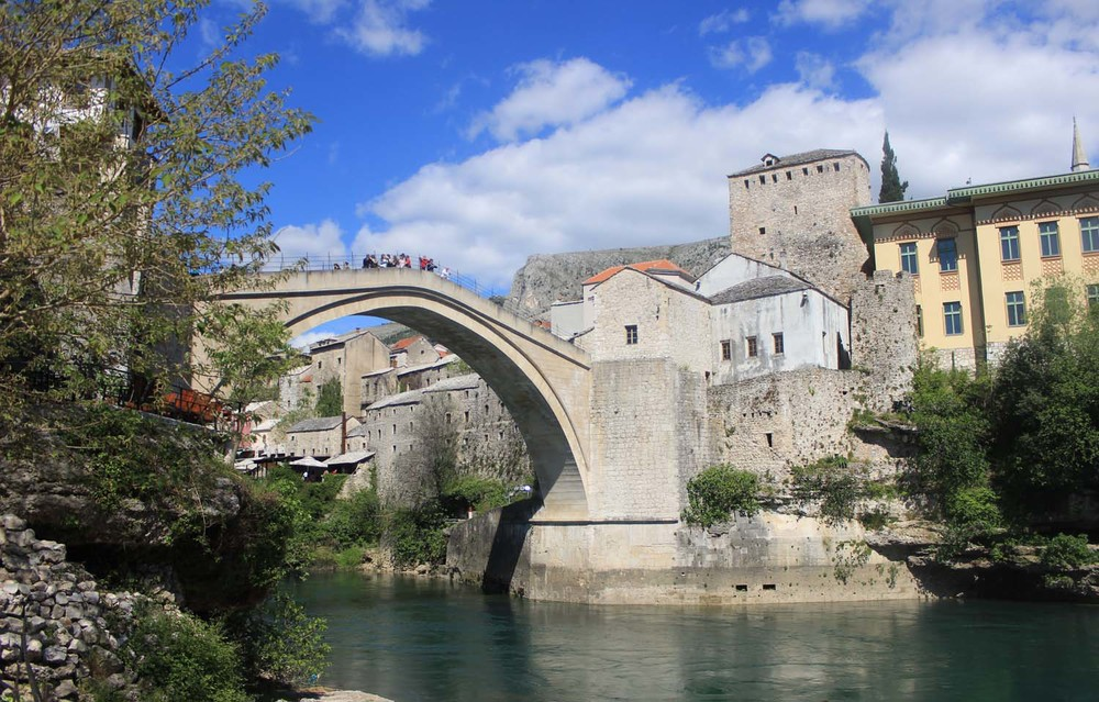 Mostar, Bosnia| Image:Laura Messersmith