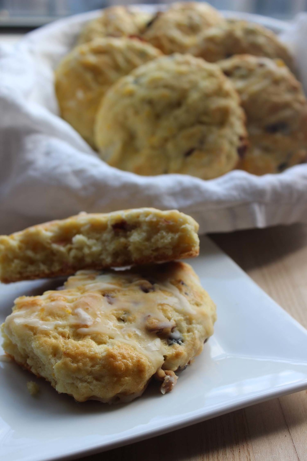 Cranberry Orange Scones  | Image:  Laura Messersmith