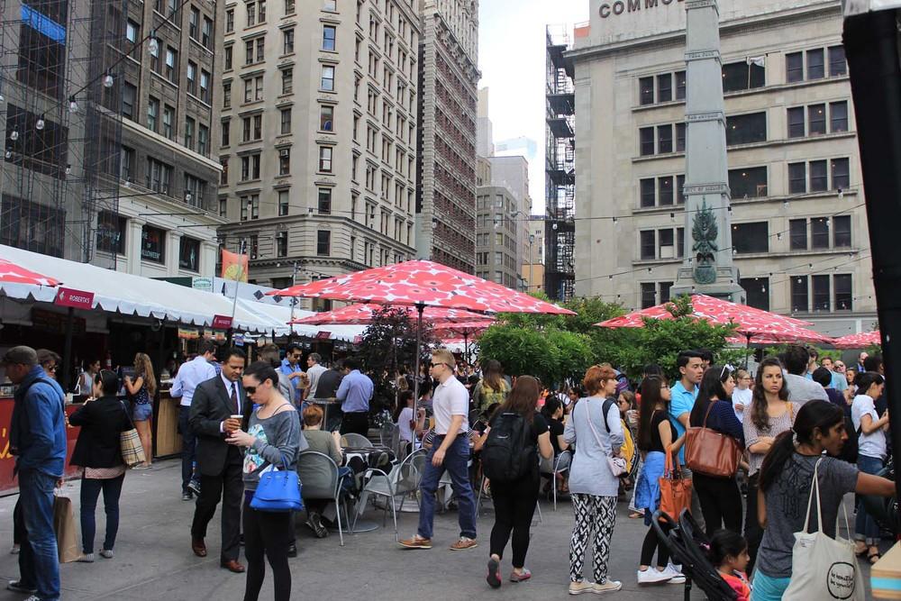 Madison Square Eats | Image: Laura Messersmith