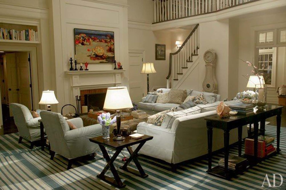 Somethings Gotta Give Living Room | Image: Architectural Digest