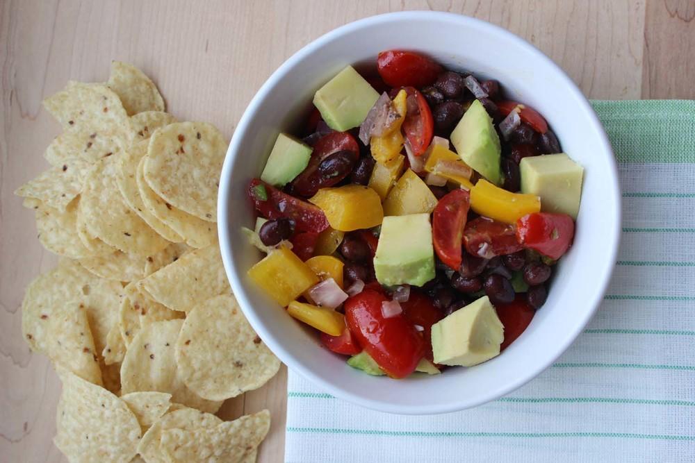 Guacamole Salad| Image:Laura Messersmith