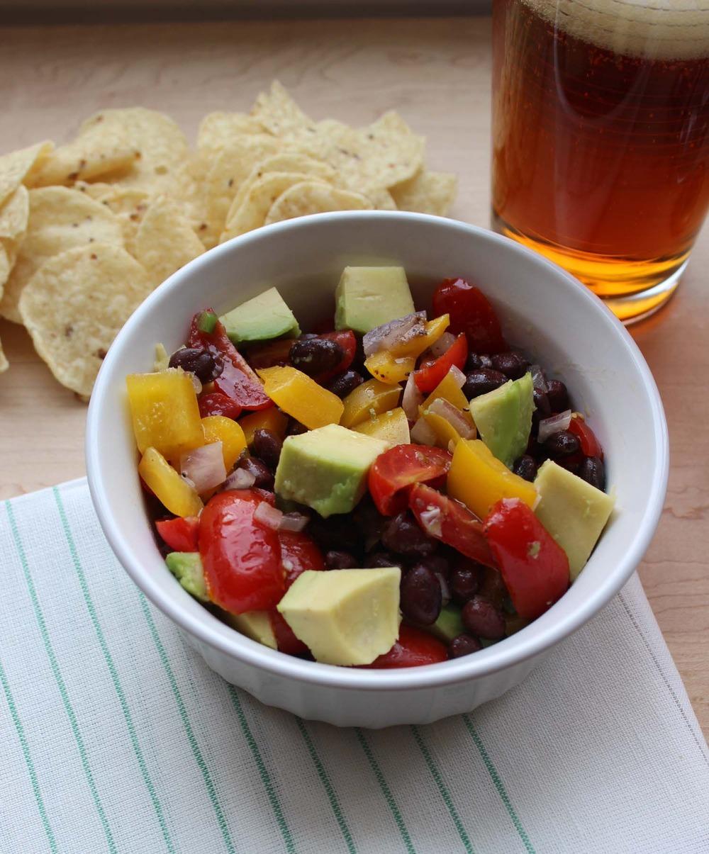 Guacamole Salad  | Image:  Laura Messersmith