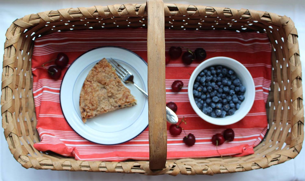 Cherry & Blueberry Buckle  | Image:  Laura Messersmith