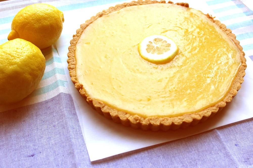 Lemon Curd Tart  | Image:  Laura Messersmith
