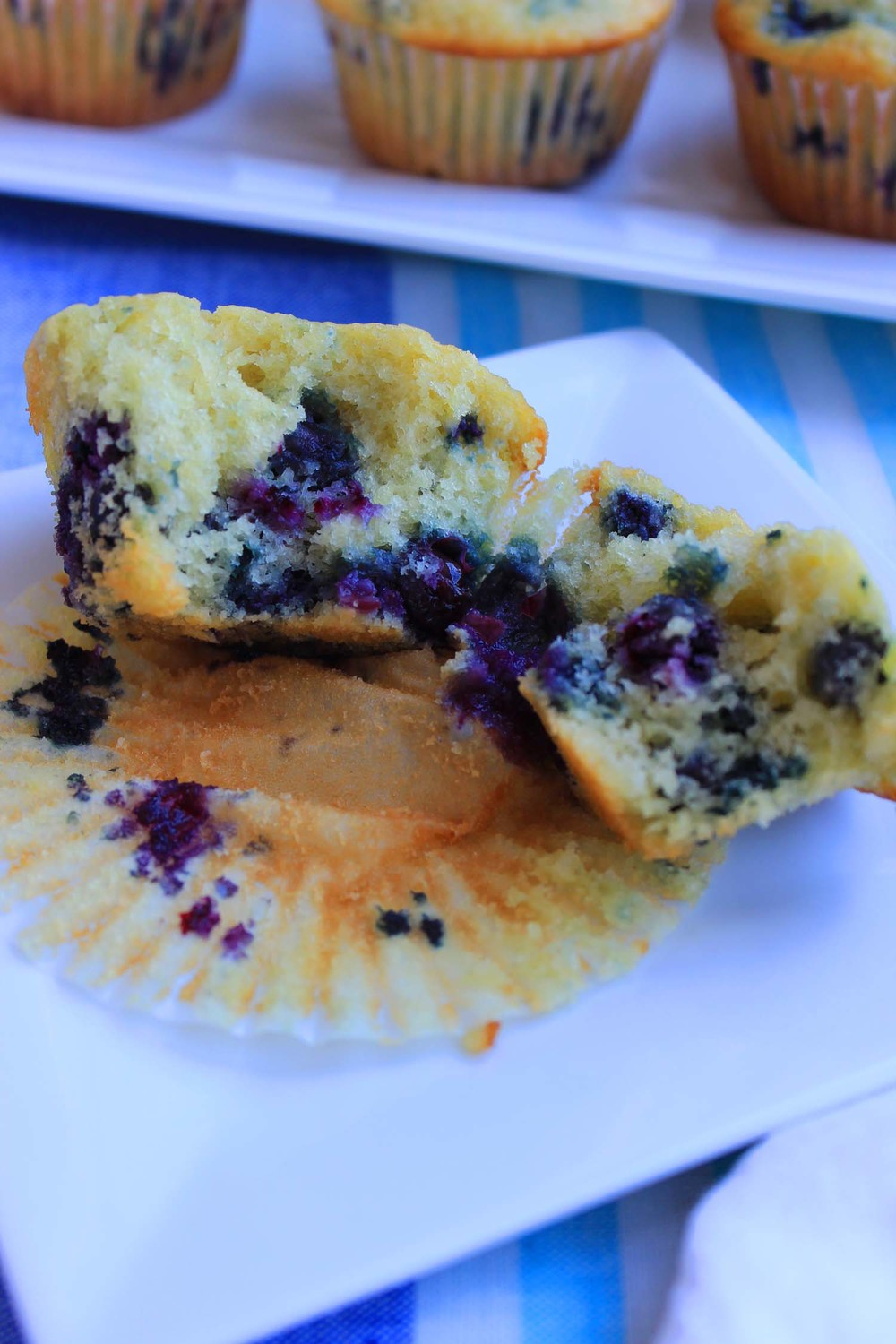 Blueberry Muffins   | Image:   Laura Messersmith