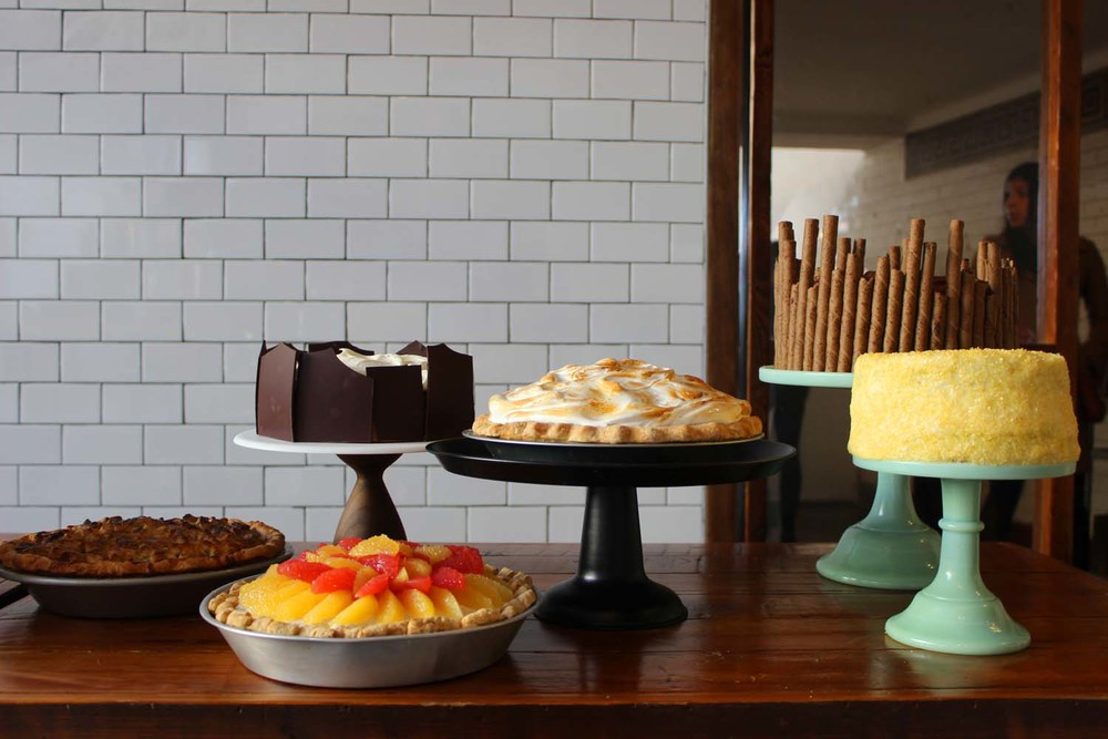 Erin McDowell's Dessert Creations| Image:Laura Messersmith