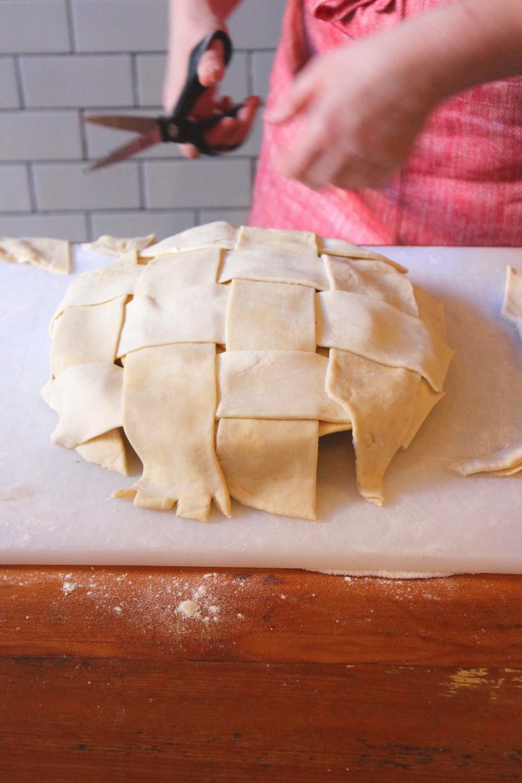 The Fattis (aka Fat Lattice) Pie Crust | Image: Laura Messersmith