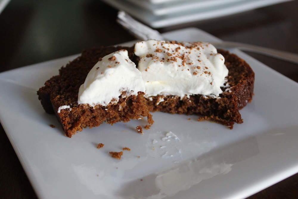 Old Fashioned Gingerbread   | Image:   Laura Messersmith