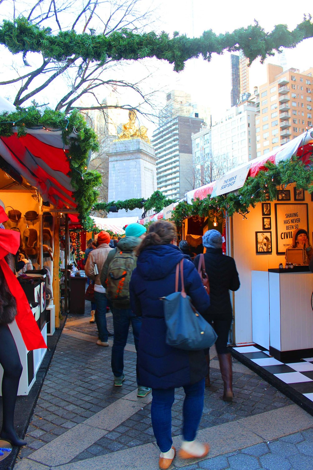 Urban Space Holiday Market @ Columbus Circle  | Image:  Laura Messersmith