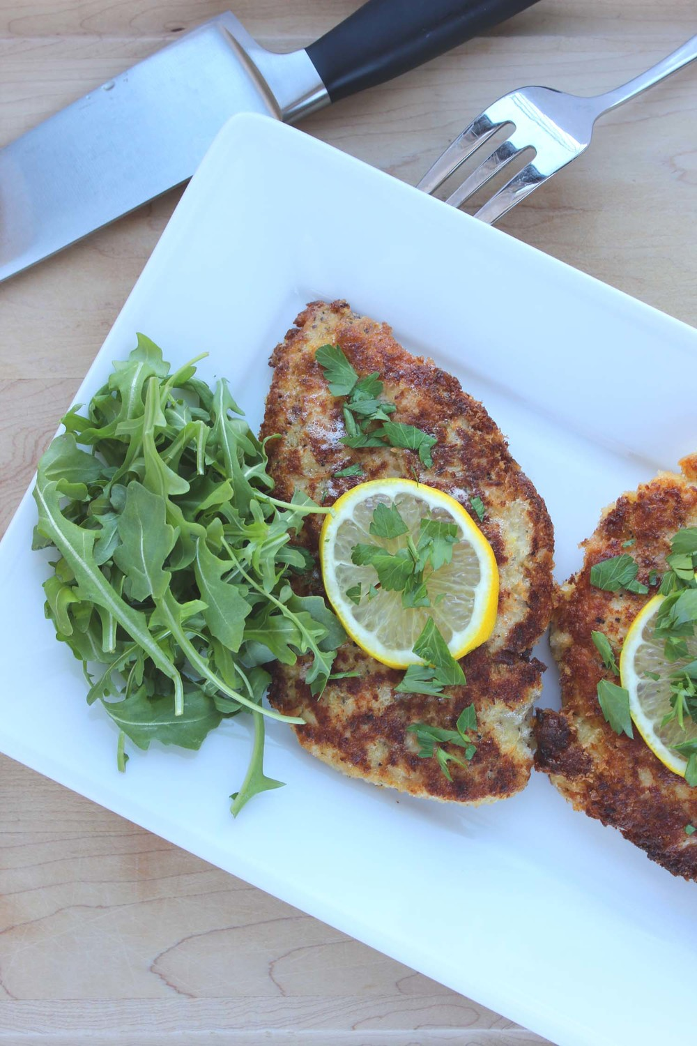 Chicken Piccata   | Image:   Laura Messersmith
