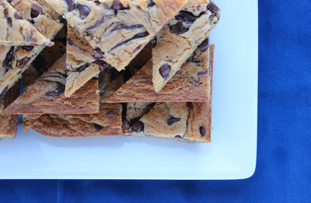 Peanut Butter Marbled Bars  | Image:  Laura Messersmith