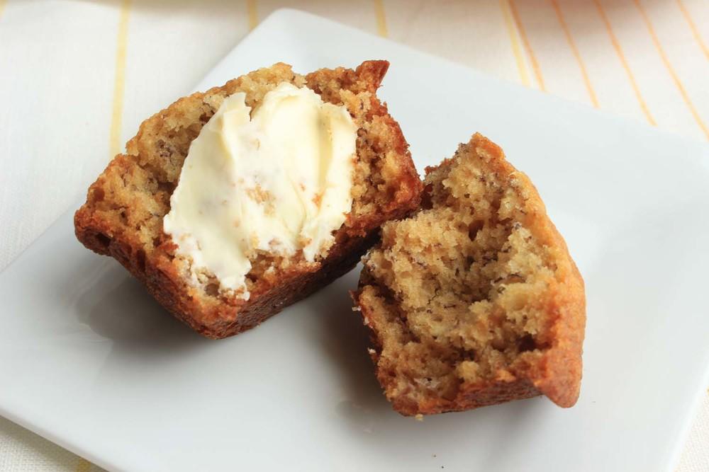Grandma Quinlan's Banana Bread| Image:Laura Messersmith