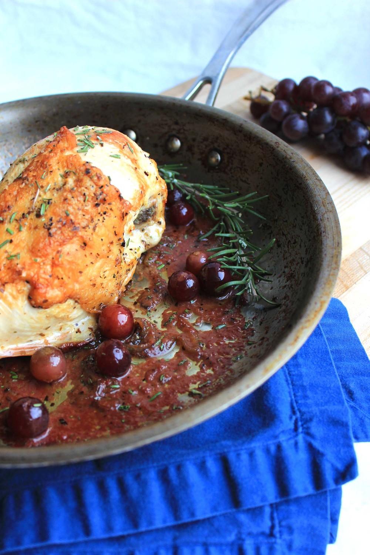 Chicken a la Vendemmia| Image:Laura Messersmith