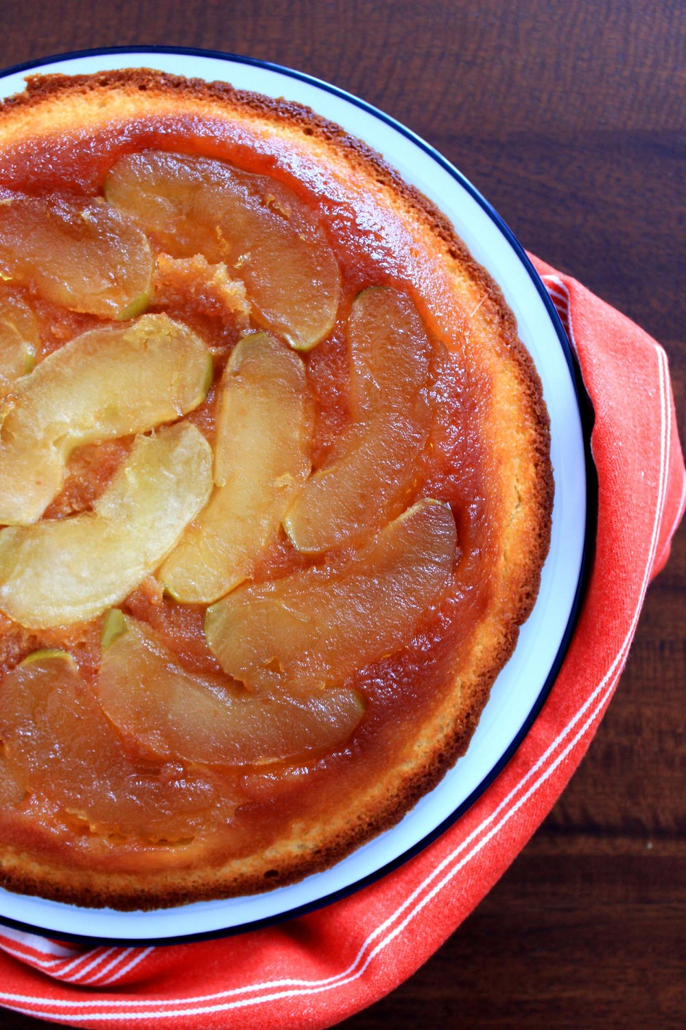Apple Cake Tatin   | Image:  Laura Messersmith