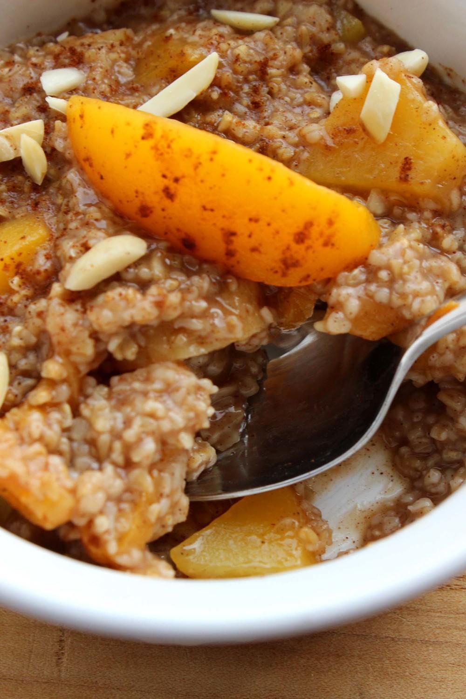 Apricot Peach Oatmeal