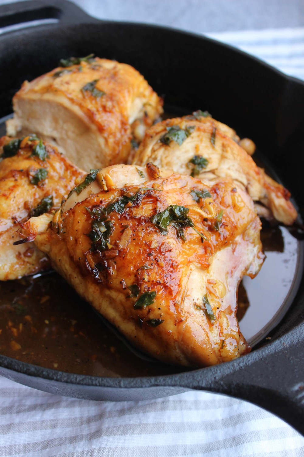 Rao's Famous Lemon Chicken (Pollo Al Limone) | Image: Laura Messersmith