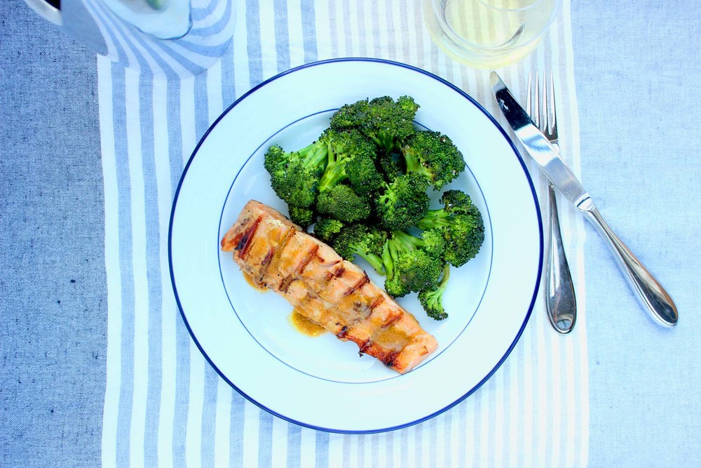 Asian Grilled Salmon   | Image:   Laura Messersmith