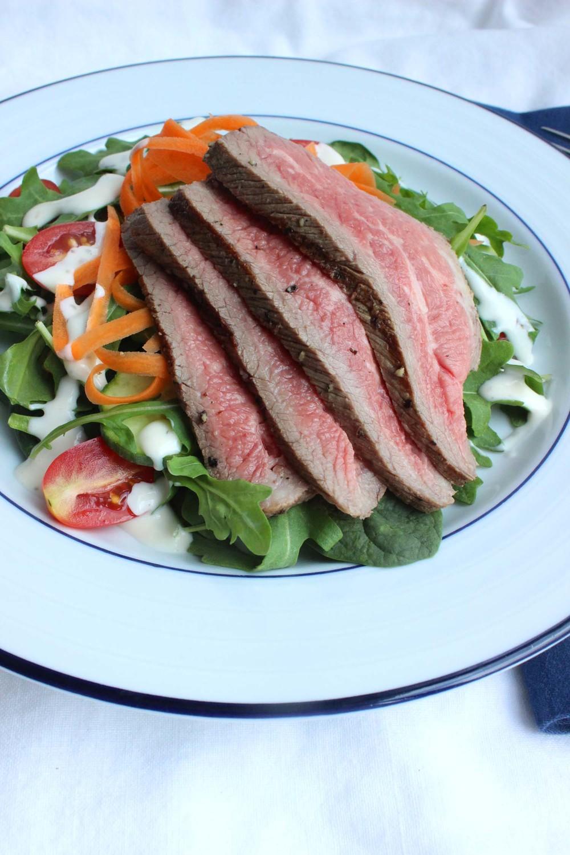 Memorial Day Steak Salad   | Image:  Laura Messersmith