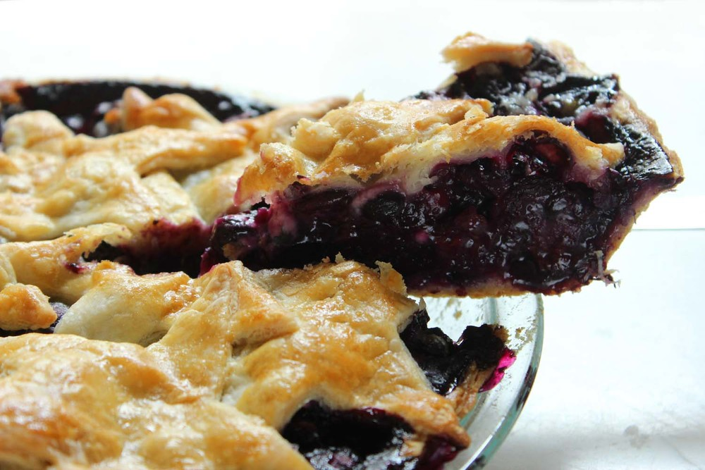 Fresh Blueberry Pie  | Image:  Laura Messersmith