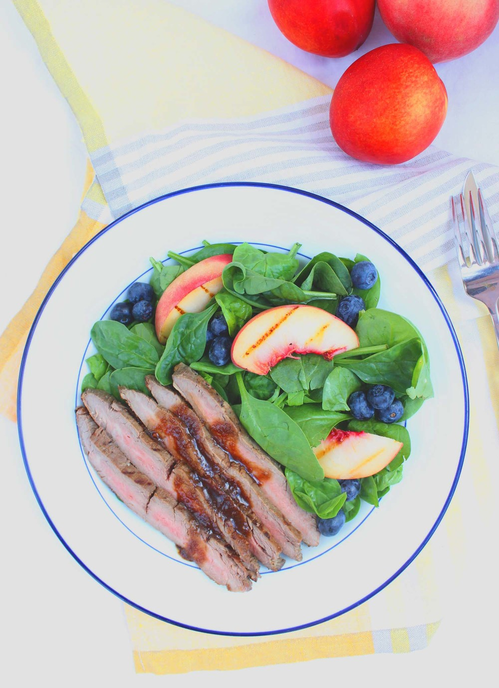 Bourbon & Brown Sugar Marinated Steak  | Image:  Laura Messersmith