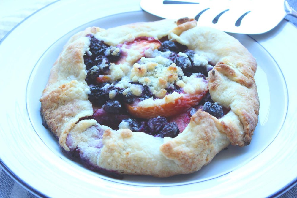 Summer Fruit Crostata  | Image:  Laura Messersmith