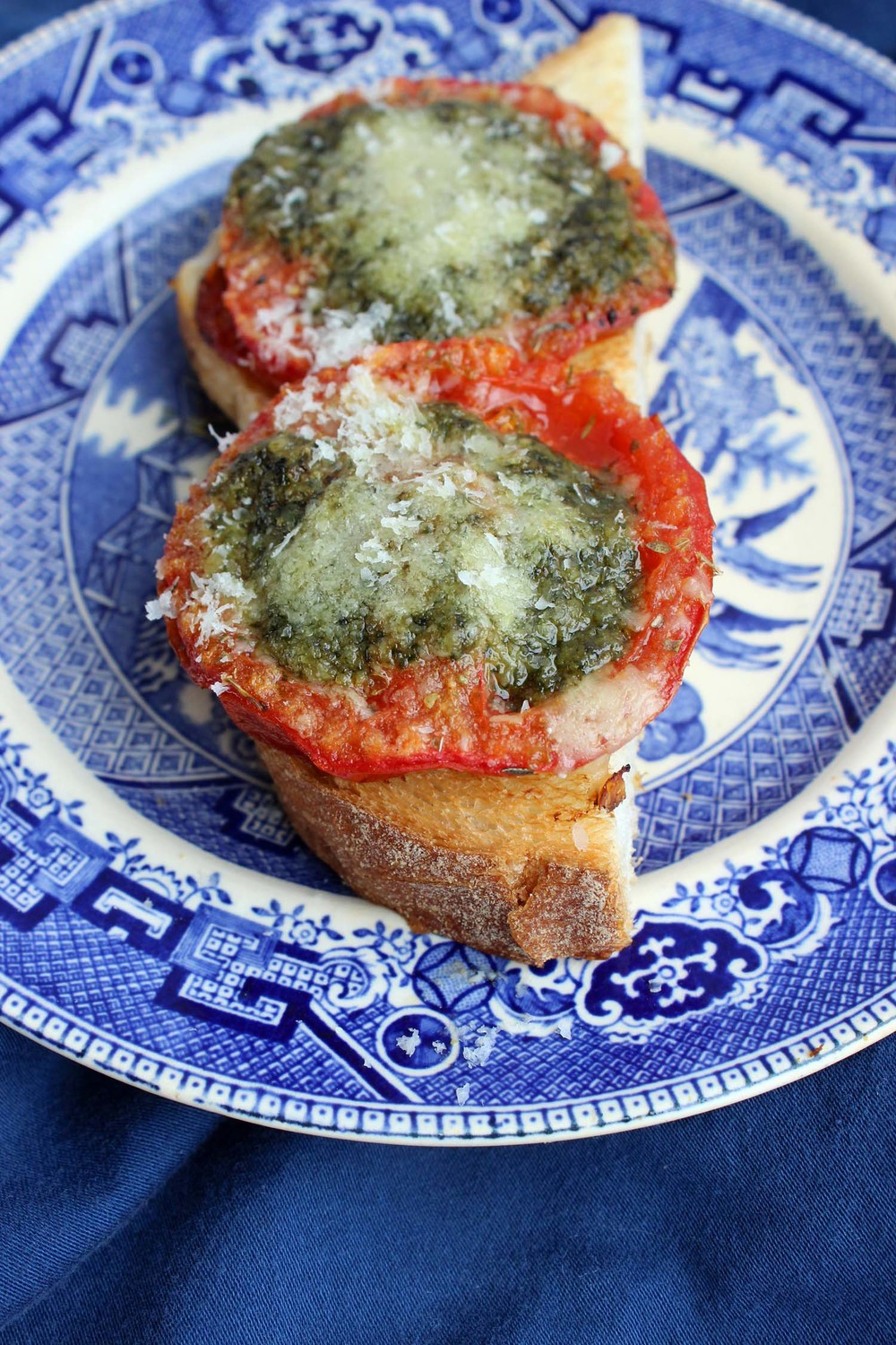 Tomatoes with Pesto | Image: Laura Messersmith