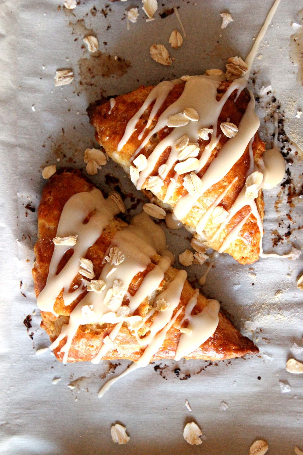Maple Oatmeal Scones   | Image:   Laura Messersmith
