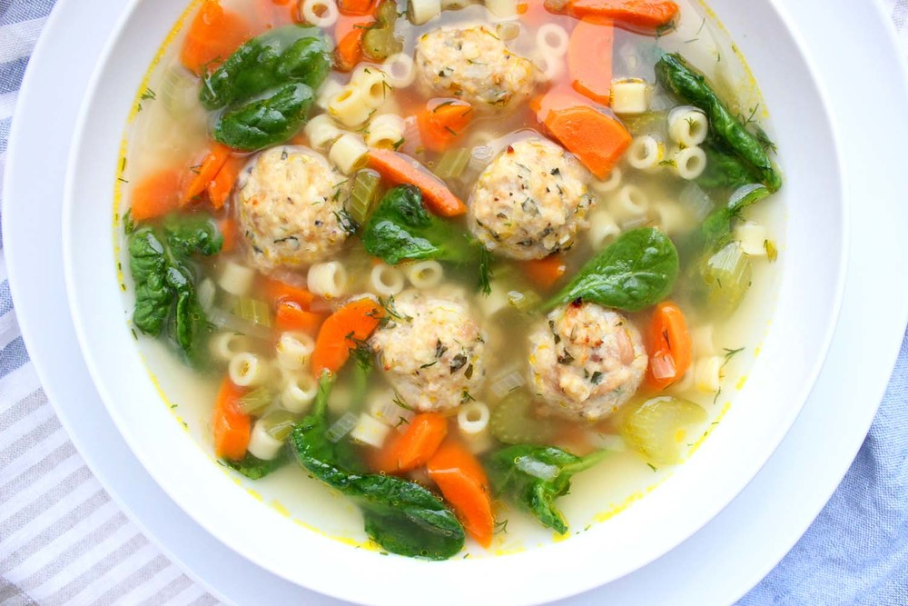 Italian Wedding Soup  | Image:  Laura Messersmith