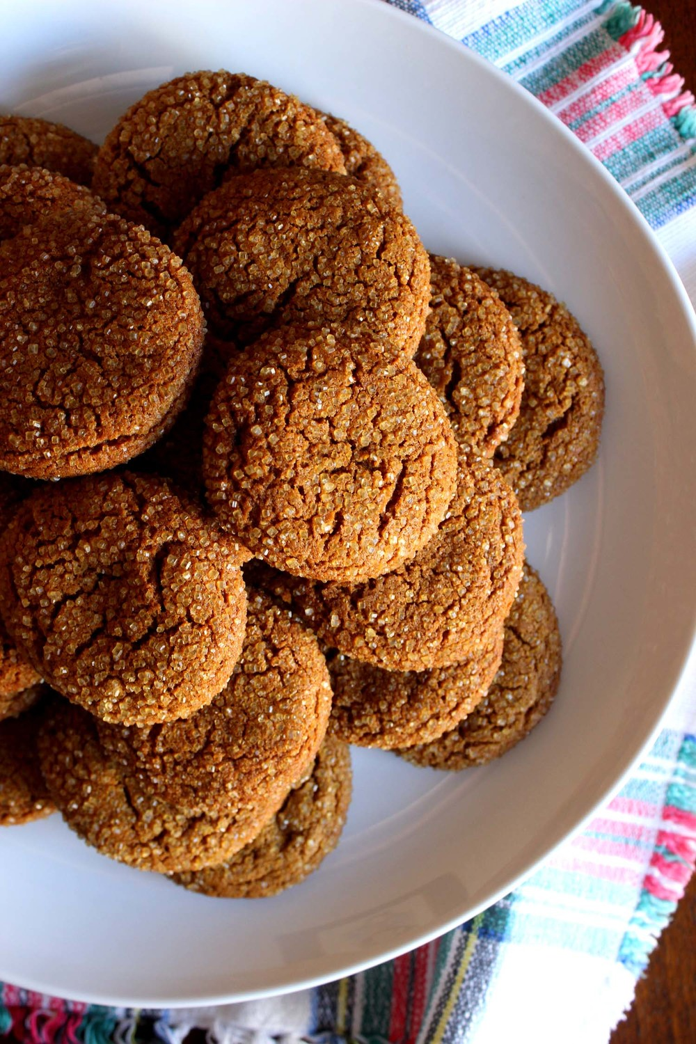 Chewy Molasses Cookies  | Image:  Laura Messersmith