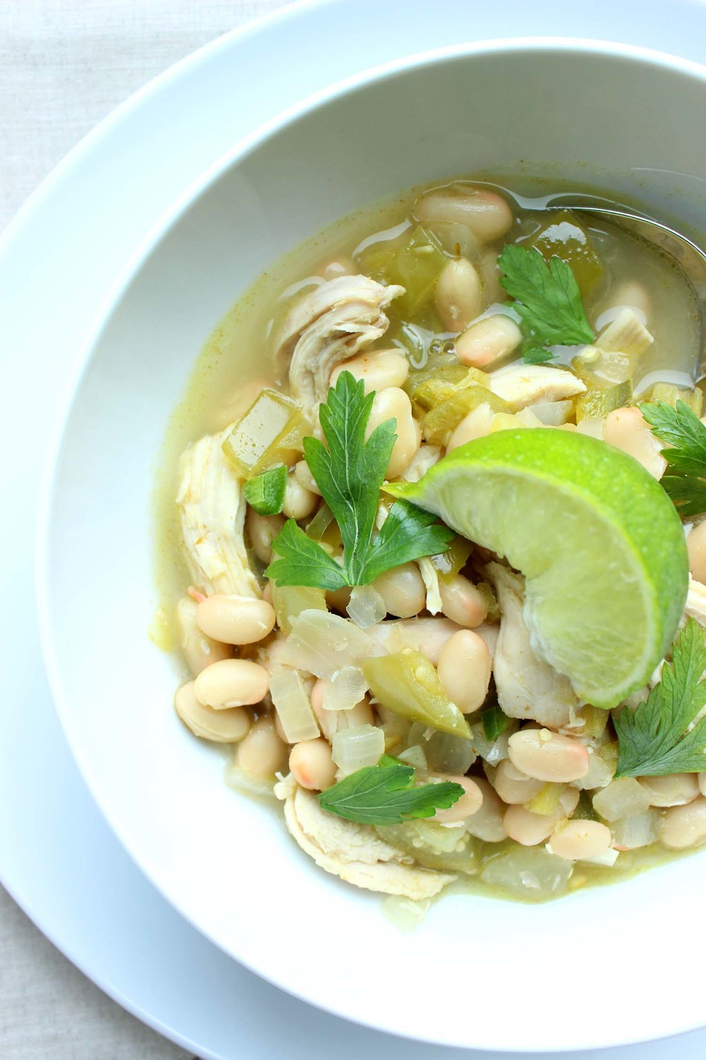 Chicken Chili Verde  | Image:  Laura Messersmith