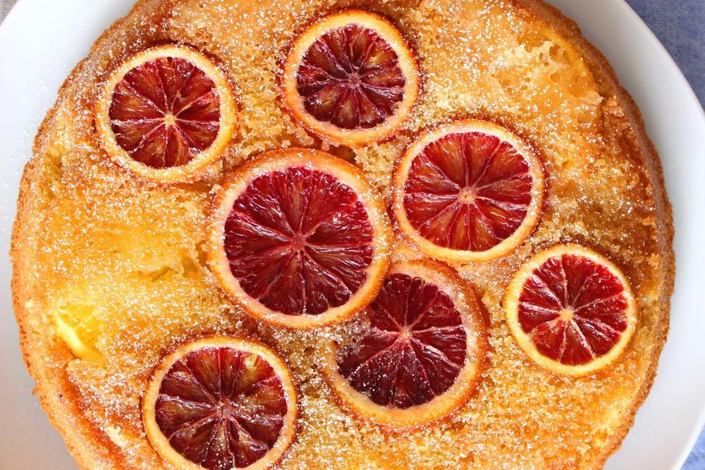 Blood Orange Polenta Cake  | Image:  Laura Messersmith