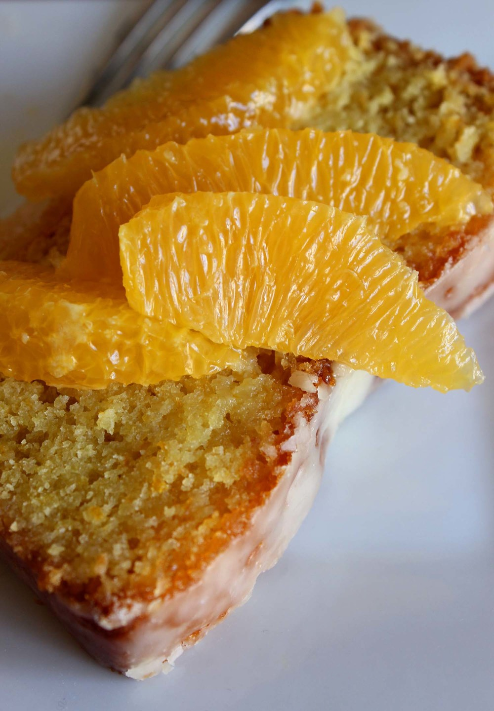 Valencia Orange Pound Cake  | Image:  Laura Messersmith