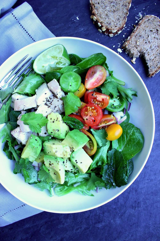 Guacamole Greens Salad  | Image:  Laura Messersmith