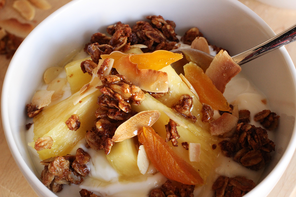 One Bowl Coconut Almond Granola | Image: Laura Messersmith