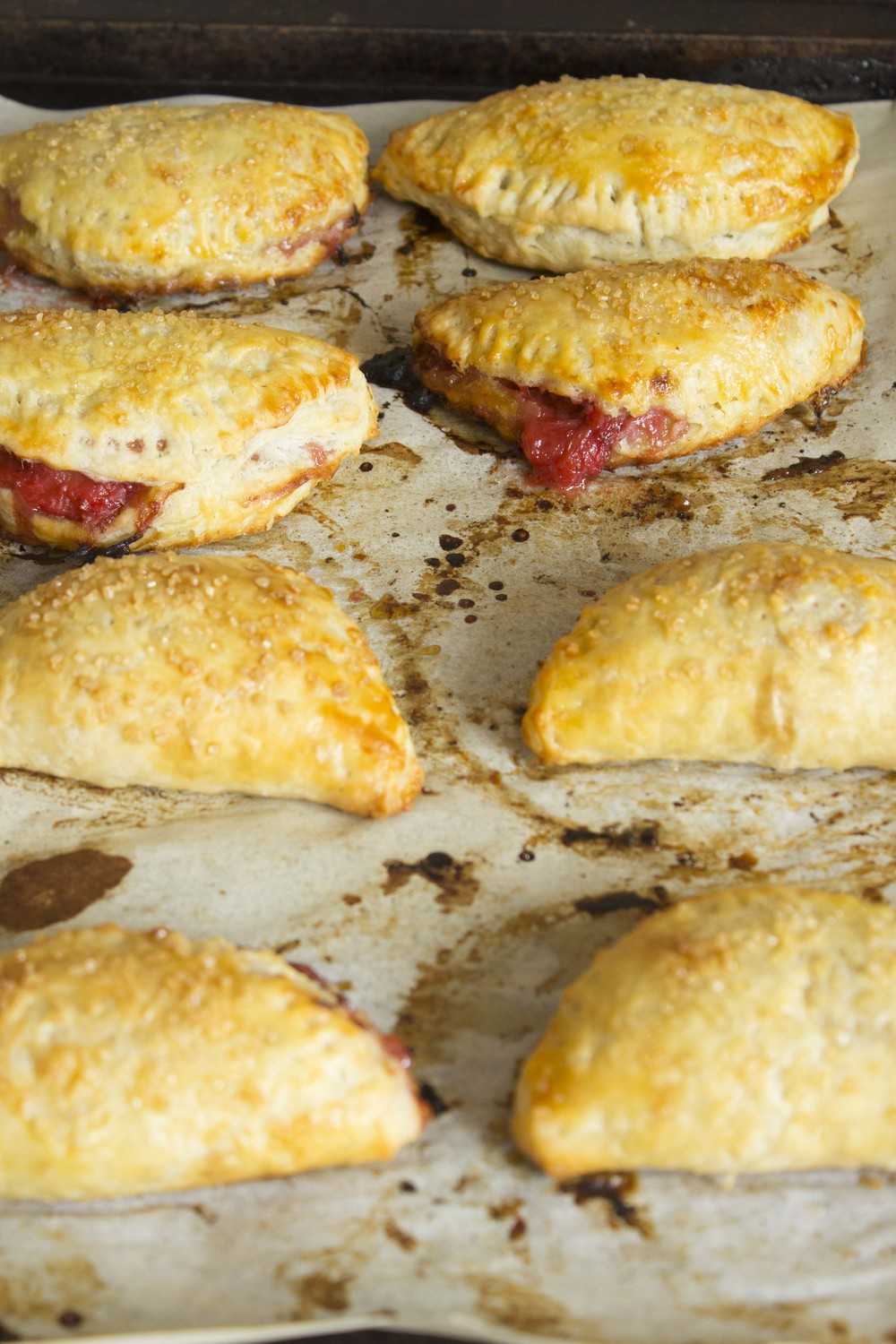 Strawberry Rhubarb Hand Pies  | Image:  Laura Messersmith