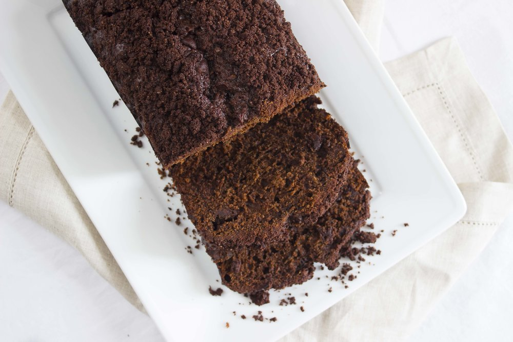 Double Chocolate Zucchini Bread  | Image:  Laura Messersmith
